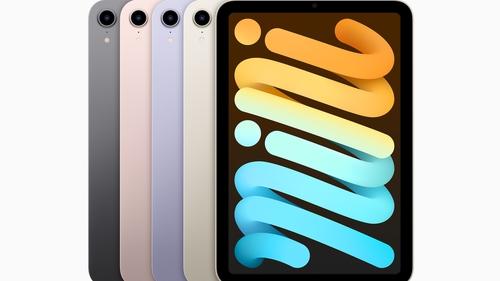 The new iPad Mini comes in four colours