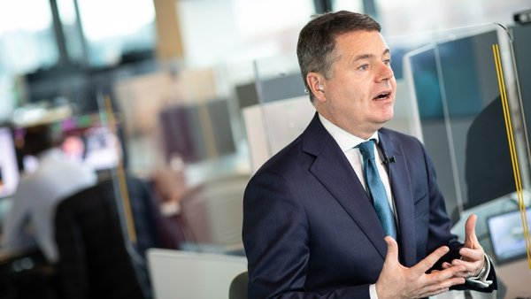 Minister Donohoe was speaking on RTÉ's News at One