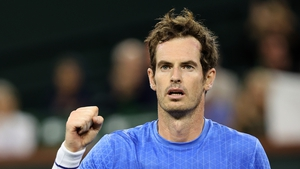 Andy Murray had two reasons to celebrate