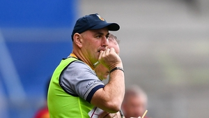 Paul McKillen, pictured, and Jim McKernan have stepped down as Antrim joint-managers