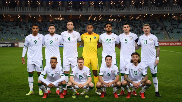 A good night in Baku for the Boys in Green