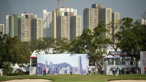 A view of the course in Fanling