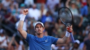 Andy Murray prevailed in the heat at the BNP Paribas Open in Indian Wells