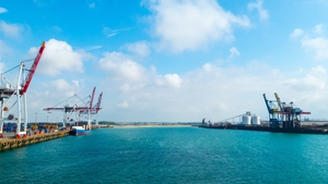 Dunkirk harbour in France, where the new terminal has opened (File)