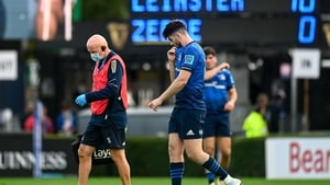 Byrne suffered a hip injury in the first half of his side's win against Zebre