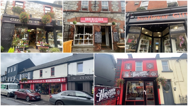 Small businesses in Navan, Co Meath, talk about their hopes for Budget 2022