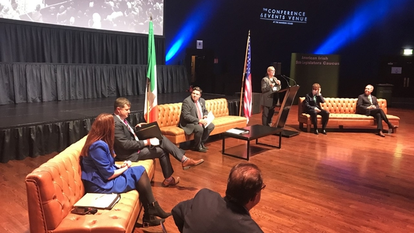 The event at the Mansion House was attended by 55 Senate presidents and minority leaders