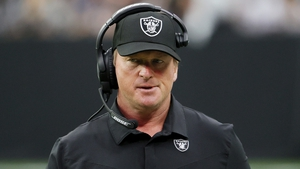 The offending emails were written during a stretch when Gruden was working for ESPN as an NFL commentator