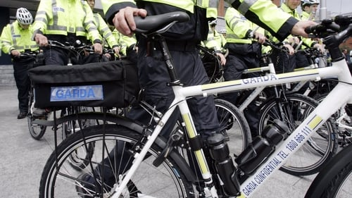 The number of mountain-bike gardaí is to increase by 20% to 650 (File photo)
