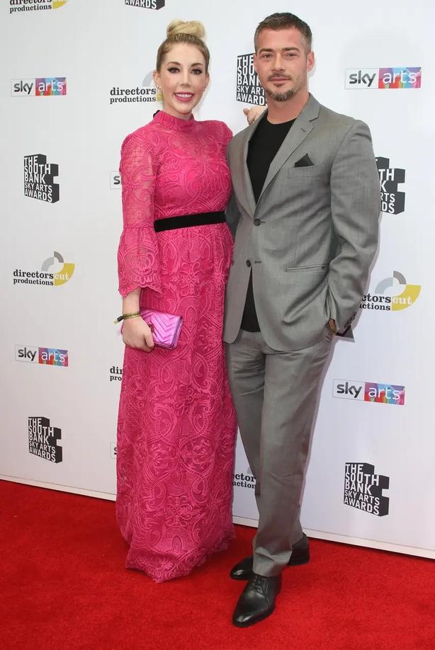 Katherine Ryan with husband Bobby Kootstra