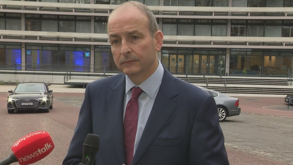 Micheal Martin said he has been subjected to protests during his career