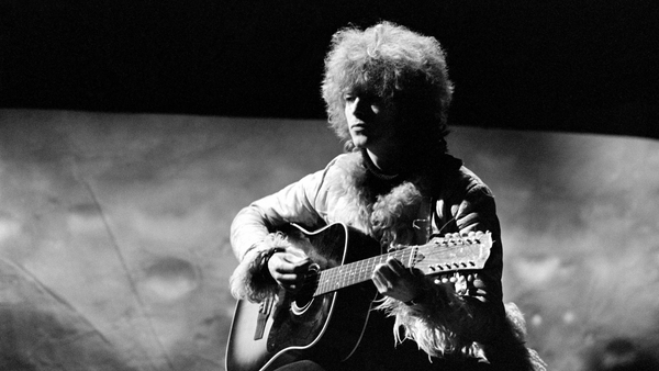 David Bowie performing 'Space Oddity' on RTÉ's popular music programme Like Now! in December 1969. Photo: RTÉ Stills Library