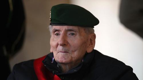 Hubert Germain will be buried alongside other members of the elite order at Mont Valerien