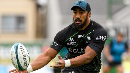 Bundee Aki is available for selection for Connacht against Munster this Saturday
