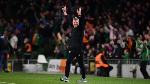 Stephen Kenny is eyeing top spot in the Nations League group