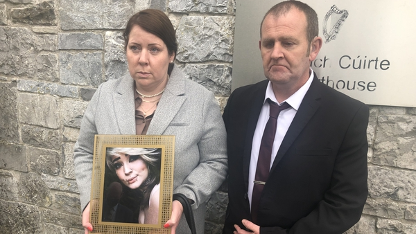 Eve Cleary's parents, Melanie and Barry, pictured at the inquest