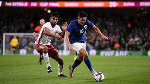 Jamie McGrath has impressed since making his international debut