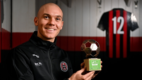 Georgie Kelly is winning the race for the golden boot in the SSE Airtricity Premier Division