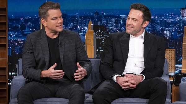 Matt Damon and Ben Affleck on Tonight with Jimmy Fallon