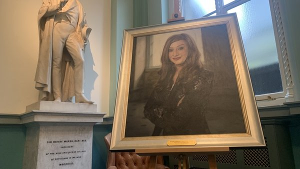 Laura Brennan is the first health advocate, who was not a doctor, to be honoured in such at a way at the RCPI