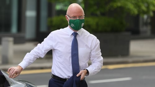 Stephen Donnelly said he has been advised by public health officials that there are two reasons for the level of cases