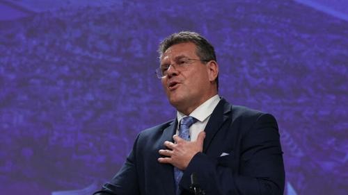 Maroš Šefcovic said he has no mandate to renegotiate the protocol