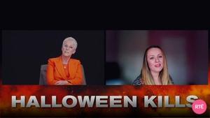 Jamie Lee Curtis speaks to RTÉ Entertainment about Halloween Kills