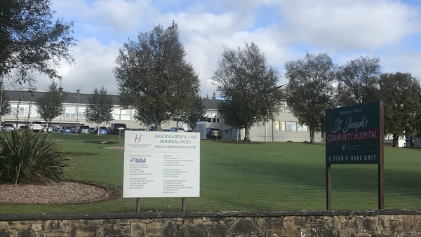 The allegations are of sexual assault on a number of residents at St Joseph's Community Hospital in Stranorlar