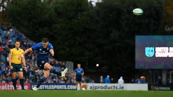 Johnny Sexton kicked a penalty and a conversion