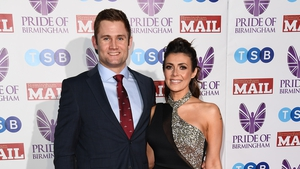 Scott Ratcliff and Kym Marsh, pictured in Birmingham in March 2019