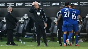 Mick McCarthy after the defeat at the Swansea.com Stadium
