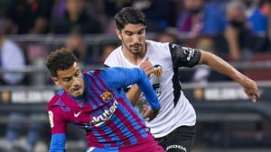 Coutinho doubled Barca's lead just before the break
