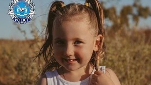 Cleo Smith was last seen in her family's tent at about 1.30am local time on Saturday (Photo: Western Australia Police Force)