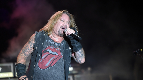 24 Aug 2019 Vince Neil performs at the Kentucky State Fair on August 24, 2019 in Louisville, Kentucky. (Photo by Stephen J. Cohen/Getty Images)