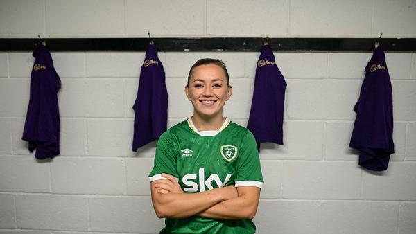 Katie McCabe will captain Ireland against Sweden