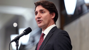 The visit followed strong criticism directed at Justin Trudeau for ignoring an earlier invitation to the community (file pic)