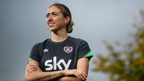 Megan Connolly was speaking ahead of Ireland's World Cup qualifier with Sweden