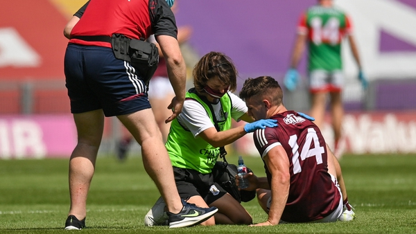 """Shane Walsh: """"Having the game taken away from you by someone else because of something off the ball, that's the most frustrating thing"""""""