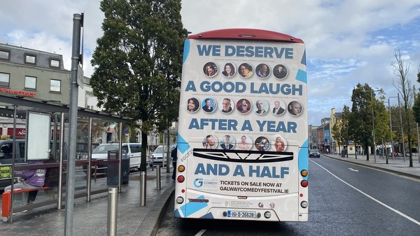 There are 80 performers and 45 shows in the week-long Galway Comedy Festival