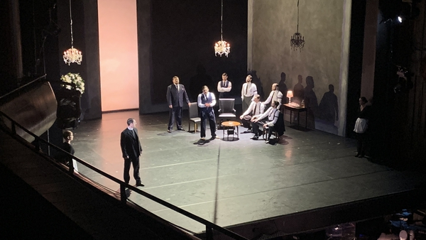 Rehearsal for I Capaleti e i Montecchi, one of this year's productions