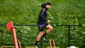 Damian de Allende returned to training with Munster this week