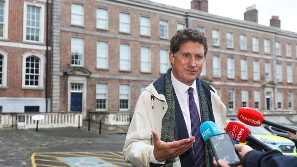 Eamon Ryan said it will take time for measures to ramp up, particularly in land use and agriculture