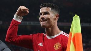 Ronaldo headed in the winner