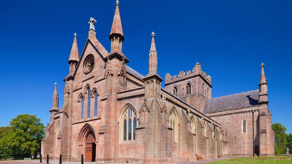 The event at St Patrick's Cathedral in Armagh is described as a service of 'reflection and hope'