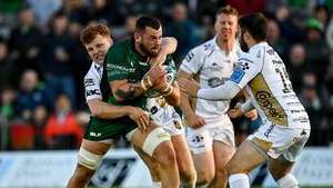 Conor Oliver has played in three of Connacht's four games this season
