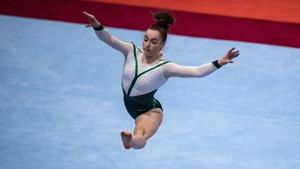 Emma Slevin scored 11.266 for her floor routine