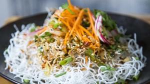 Jeeny's crispy rice noodle salad recipe.