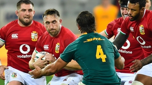 Jack Conan in Lions action during the summer