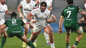 Tom O'Toole in action against Connacht