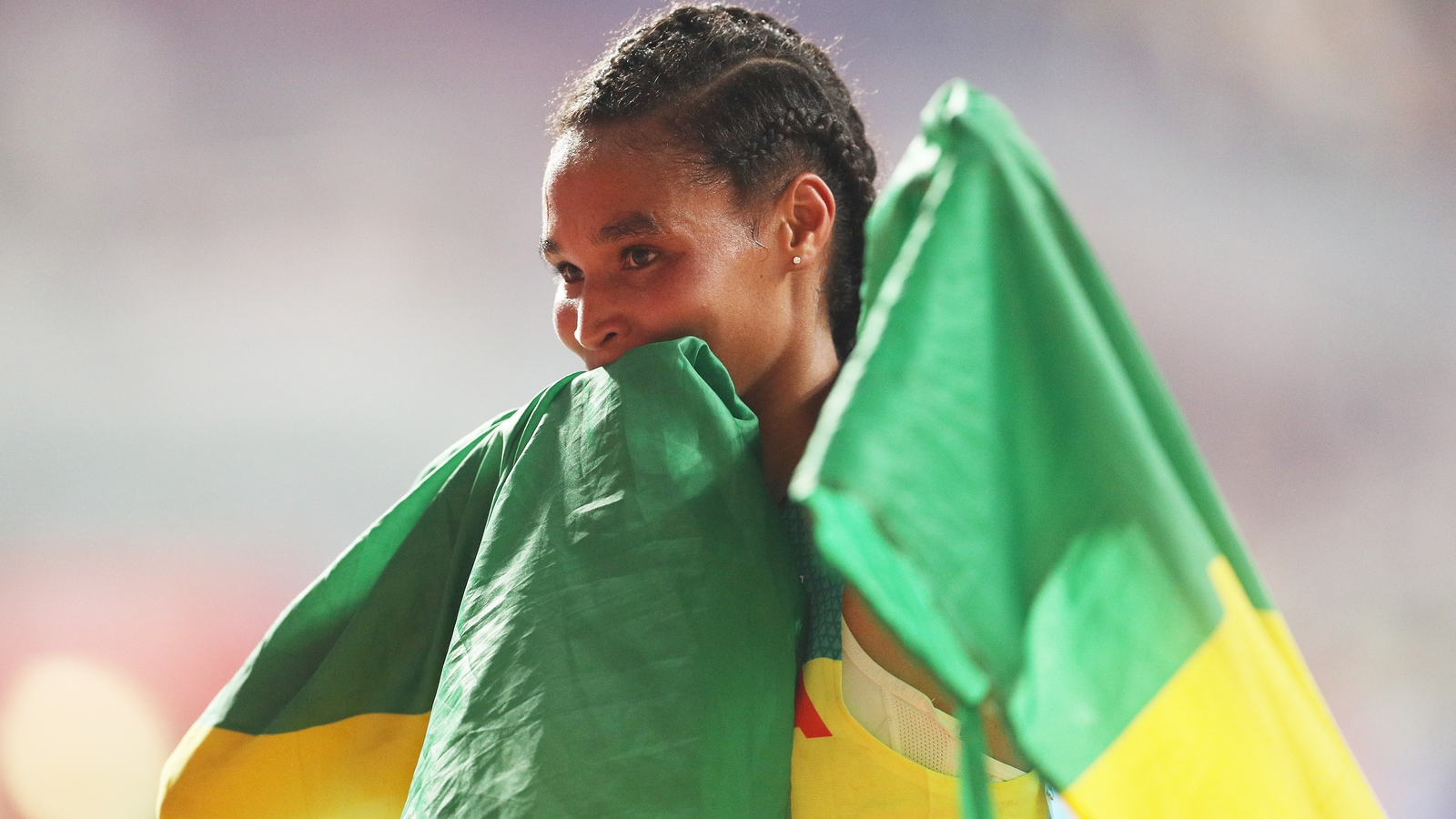 Ethiopia's Gidey breaks half marathon world record